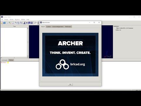 Free Open Source Cad Software Archer BRL-CAD Setup
