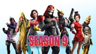 * NOVO * TEMPORADA FORTNITE 9 BATTLE PASS-NOVAS SKINS, DESAFIOS, ARMAS E MAPA (FORTNITE BATTLE ROYALE)