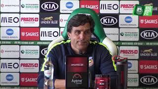 Conferência de Imprensa de Antevisão: Rio Ave FC x SC Braga