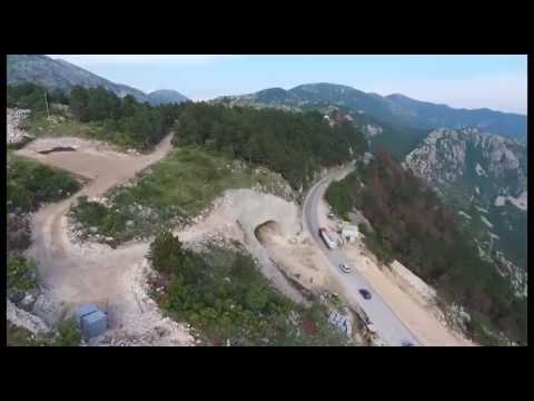 Promo spot puta Podgorica Cetinje Budva