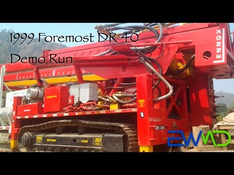 1999 Foremost DR 40 Demo Run