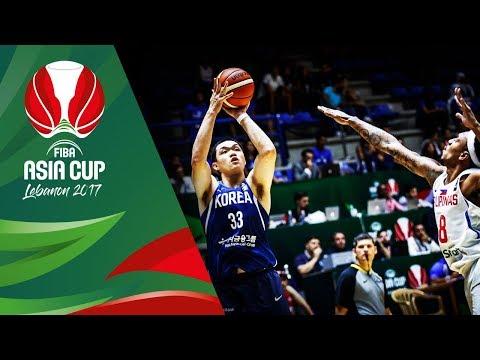 Philippines v Korea - Full Game - Quarter-Final - FIBA Asia Cup 2017
