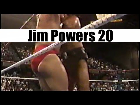 Jim Powers vs. The Barbarian 2: Jobber Squash Match