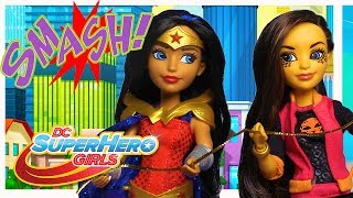 Wonder Woman and Cheetah Save The Day | DC Super Hero Girls
