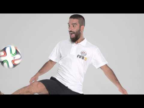Fifa 15 t�rkiye kapak y�ld�z�  arda turan