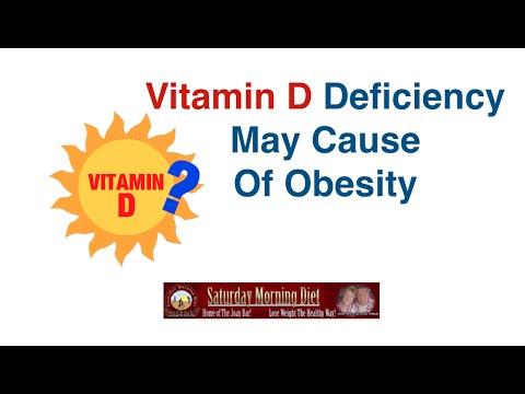 Vitamin D Definiency May Cause Obesity