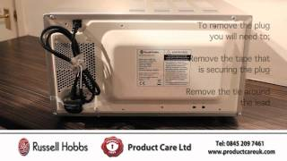Russell Hobbs Microwave RHM1709 Installation & How To Guide