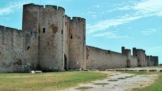 Aigues-Mortes, Languedoc-Roussillon, Camargue, France [HD] (videoturysta)