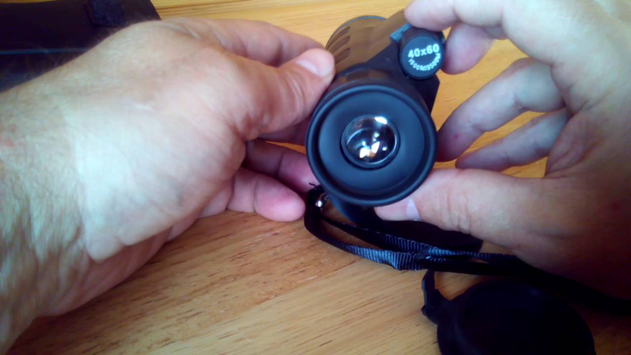 Panda 40x60 focus portable monocular telescope aliexpress youtube
