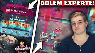 GOLEM GUIDE! | MIT DIESEN EXPERTEN TIPPS RASIERT DER GOLEM! | Clash Royale Deutsch