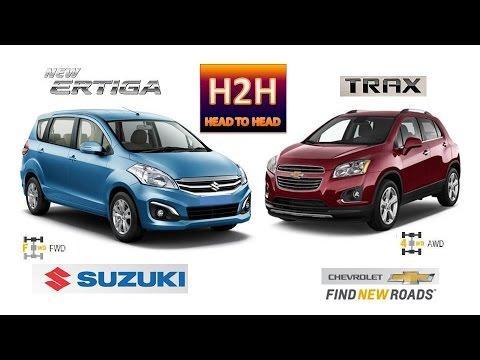 H2h 34 Suzuki New Ertiga Vs Chevrolet Trax Youtube