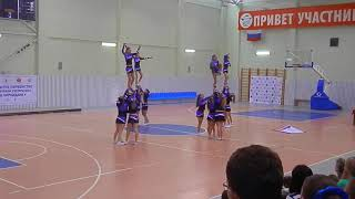 Cheerleading. Чир спорт. Команда Sunrise.