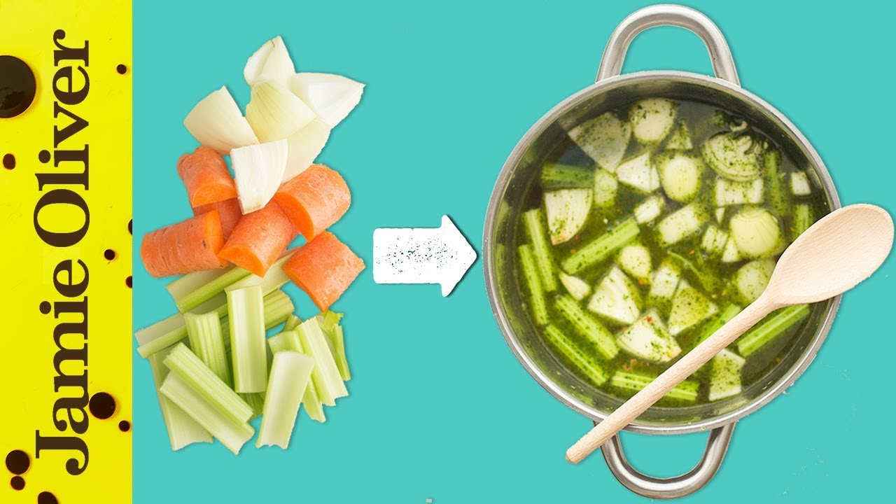 how to make vegetble stock