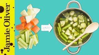 How To Make Vegetable Stock | 1 Minute Tips | Gennaro Contaldo