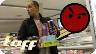 Der ARSCHLOCH-TEST: Wie viel kann man sich im Supermarkt erlauben? | taff | ProSieben