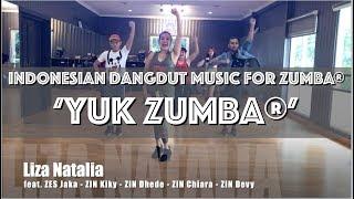 'Yuk Zumba' | Dangdut Music for ZUMBA® by LIZA NATALIA | Choreo & Dance