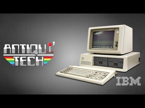 Antiqui'Tech : IBM 5150 - Le tout premier PC au monde !