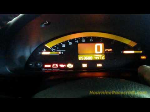 Resetting Honda Maintenance Required Light