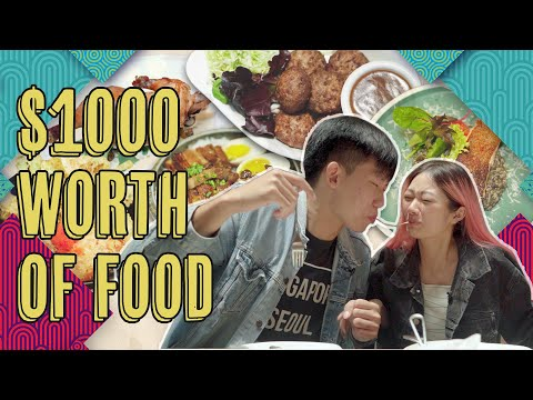 We Ate $1,000 Worth of Food In A Day!