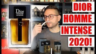 Dior Homme Intense 2020 by Christian Dior First Impression + GIVEAWAY!