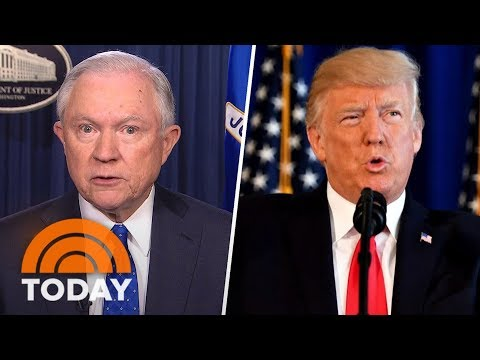 Jeff Sessions: Donald Trump 'Made A Strong Statement' About Charlottesville Violence | TODAY