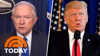 Jeff Sessions: Donald Trump 'Made A Strong Statement' About Charlottesville Violence | TODAY Free HD Video