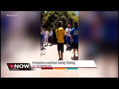Protesters Harass St. Pete Family Out Fishing