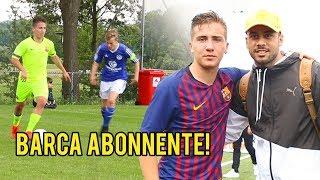 FC Barcelona u 15 Riesen Talente & Abonnent rasiern heftiges Fussballturnier!!