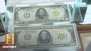 Pawn Stars: Rare $500 and $1000 Bills (Season 3) | History