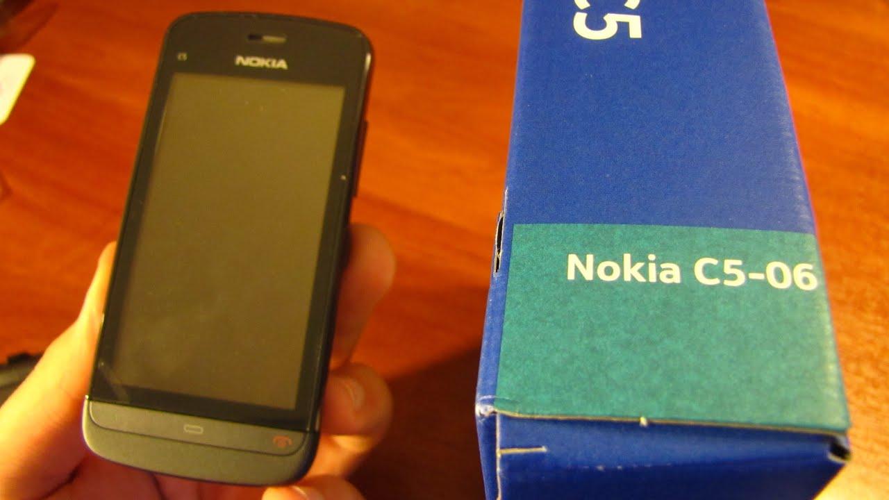 Nokia C5-00.2 (5MP) - YouTube