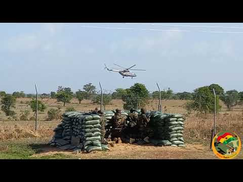 GHANA AIRFORCE & 69 AIRBORNE FORCES TRAIN