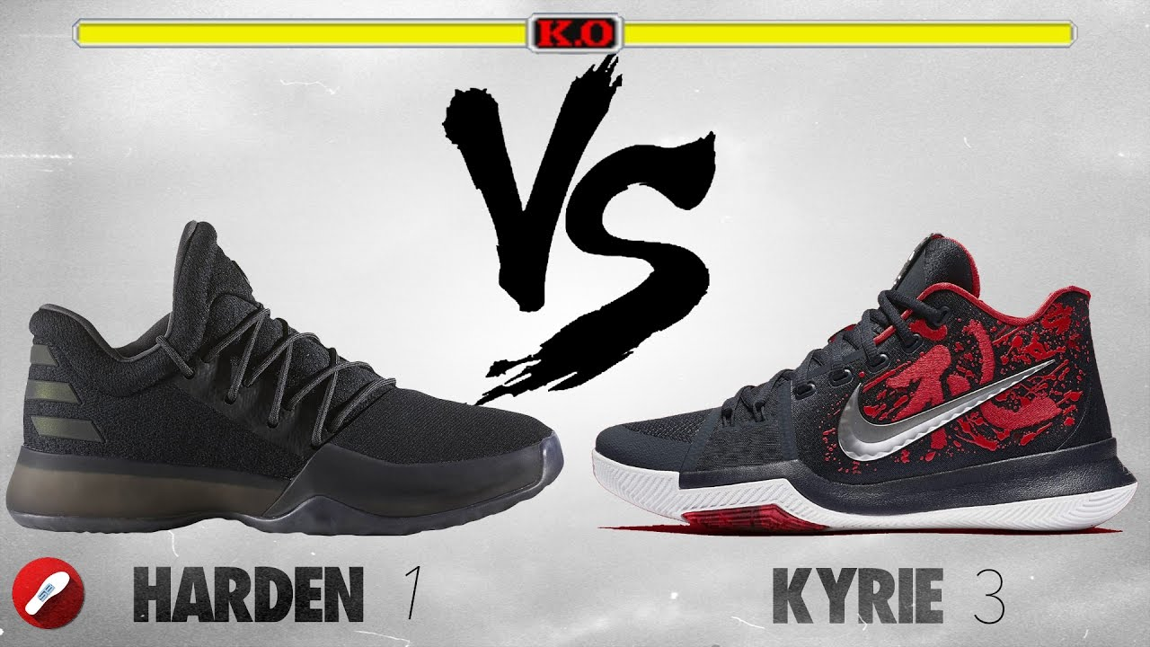 1 vs Nike Kyrie 3! - YouTube