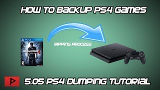 [How To] Backup PS4 Games on 5.05 Firmware (Dumper Tutorial)