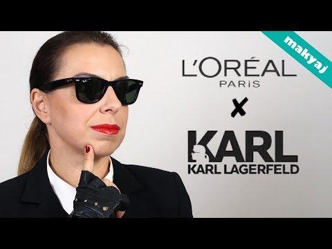 TEK MARKA MAKYAJ | L'OREAL PARIS X KARL LAGERFELD KOLEKSİYONU 💄