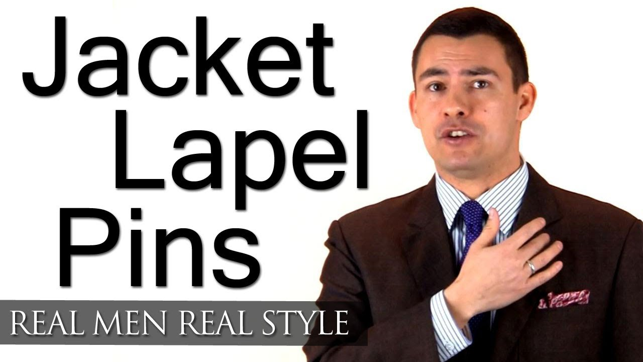 Men's Jacket Lapel Pins - Thoughts On Wearing a Lapel Pin ...