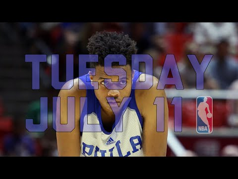 The Starters at MGM Resorts NBA Summer League - July 11
