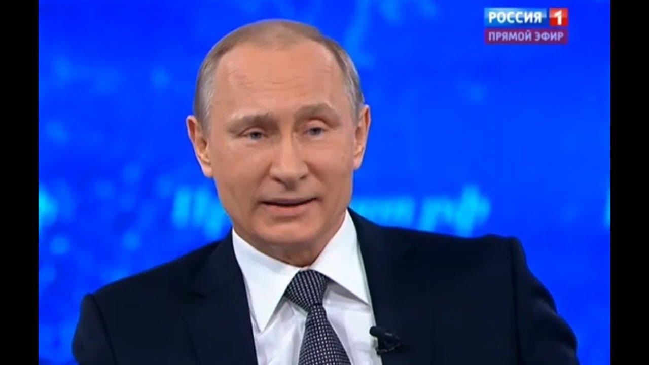 Прямая линия с Владимиром Путиным. Эфир от 16 апреля 2015 года (часть 1)