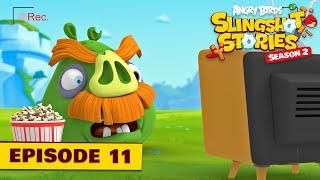 Angry Birds Slingshot Stories S2 | Piggy Pranks Ep.11