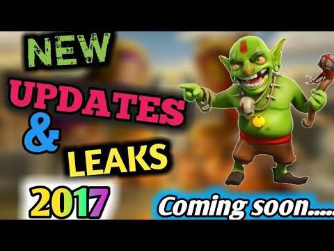 NEW  UPCOMING UPDATES AND LEAKS  IN CLASH OF CLANS | SEPTEMBER 2017 | Clash With Mickey