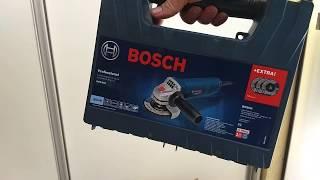 Nova Esmerilhadeira Bosch GWS 850 lançamento linha Ocean linha Range