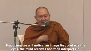 Dhamma in English Venerable Pramote : The Mindfulness for True Vipassana