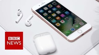 Hands-on: iPhone7 & Airpods - BBC News