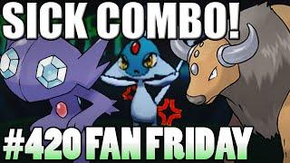 SICK COMBOS!! Pokemon Omega Ruby Alpha Sapphire WiFi Battle! Fan Fridays #420 AKen