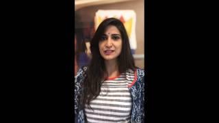 Santambrogio - intervista Aahana kumra 21.04.2017
