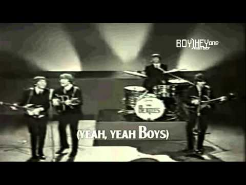 Beatles - Boys [FULL HD] w/ lyrics