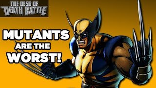 Mutants are DICKS! | Desk of DEATH BATTLE thumbnail