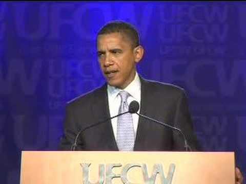 Obama Addresses the UFCW