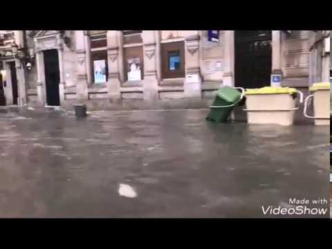 Múltiples inundaciones en A Coruña
