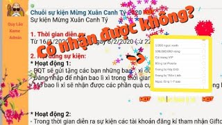Zong1sao    Sự Thật Về Các Web Nhận Quà Sự Kiện Tết 2020 - Ngọc Rồng Online