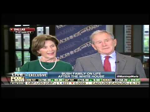 Fox Business full interview with George W. Bush and Laura Bush